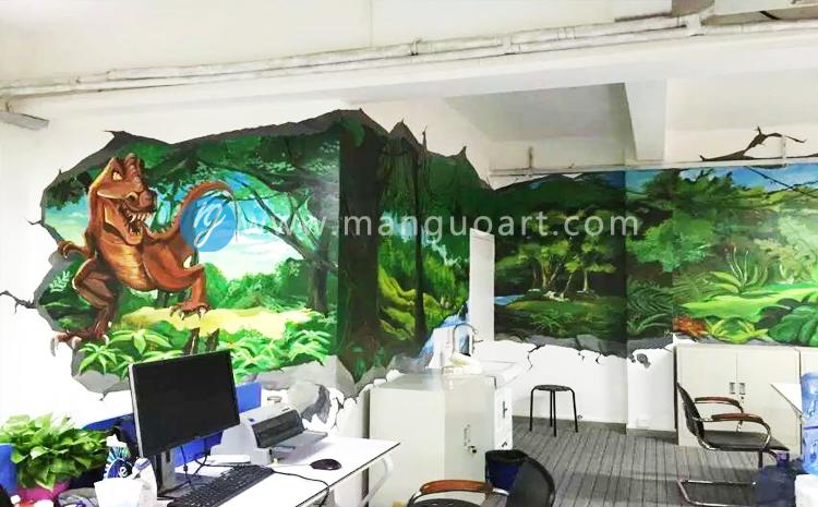 曼果墙绘|广州深圳专业墙绘,涂鸦,手绘墙,壁画团队